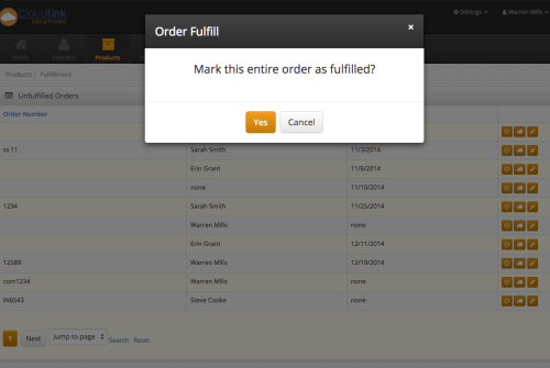 Automatically fulfill and create packing slips for orders that need to be shipped.