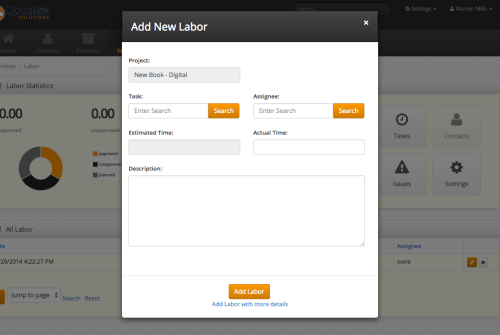 Track labor on jobs, appointments, work orders, and much more.
